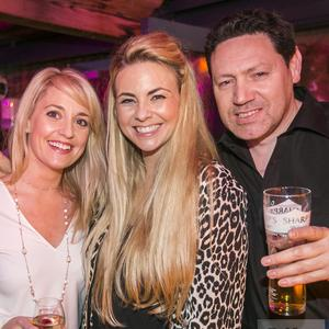 People out at The Perch & China White. Saturday 18th February 2017. Liam McBurney/RAZORPIX