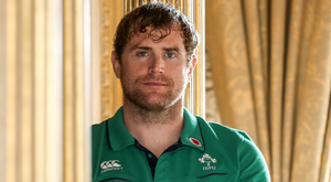 Fired up: Jamie Heaslip wants to complete his trophy cabinet