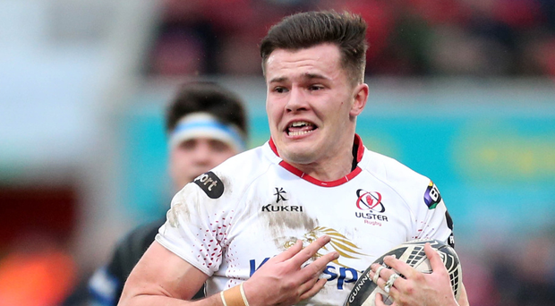 On the rise: Jacob Stockdale has six tries this season