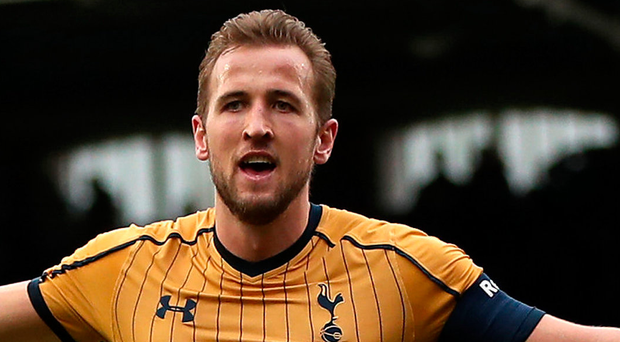 Rallying call: Harry Kane is keen to make Wembley home