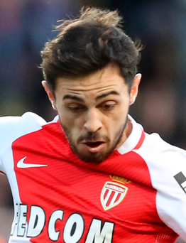 Wanted man: Bernardo Silva is being chased by leading clubs