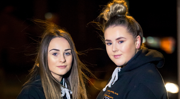 Brooke Thompson and Demi McCarey who feature in the film