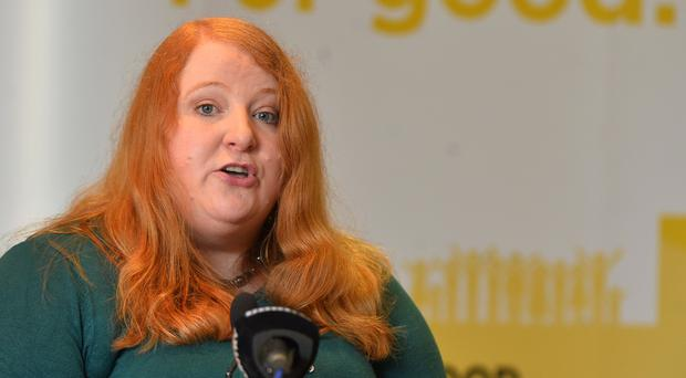 Alliance Party Leader Naomi Long launches Alliance Assembly Election 2017 Manifesto. Photo Colm Lenaghan/Pacemaker Press