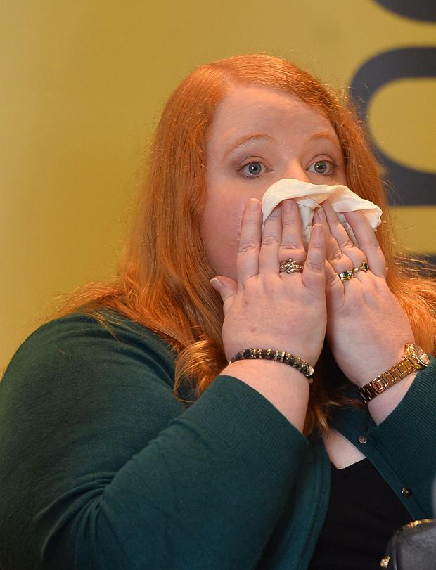 Alliance Party Leader Naomi Long at the Alliance Assembly Election 2017 Manifesto Launch at the Park Avenue Hotel in East Belfast on Tuesday. Photo Colm Lenaghan/Pacemaker Press