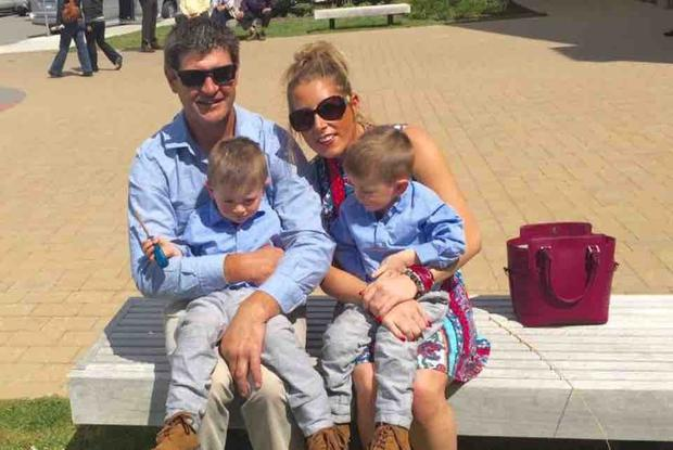Sean Maher was the father of twin boys Image: GoFundMe