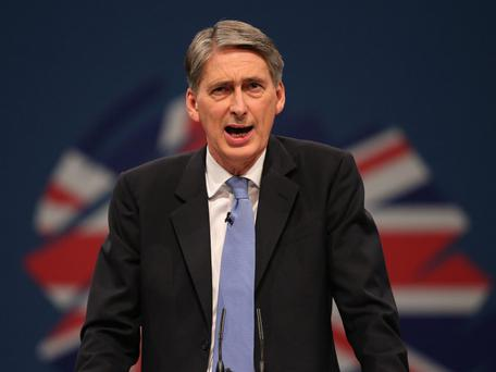 UK Posts Record Surplus in Pre-Budget Boost for Hammond