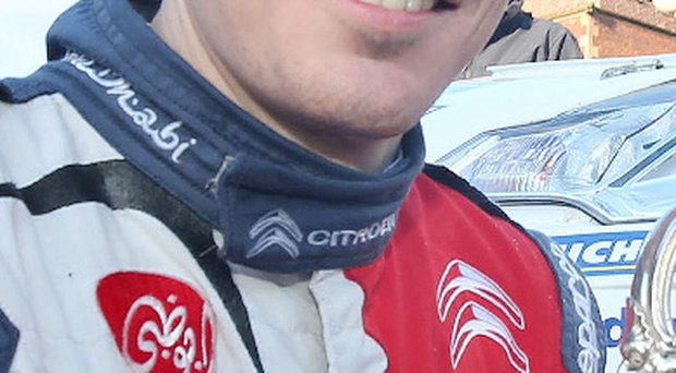 Sit it out: Craig Breen will not feature in Rally Mexico