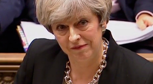 Opposition: Theresa May