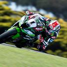 Raring to go: Jonathan Rea can't wait to begin his bid for an historic third title in a row