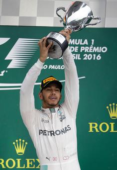 Massive challenge: Lewis Hamilton will be driving an even faster Formula One car this year