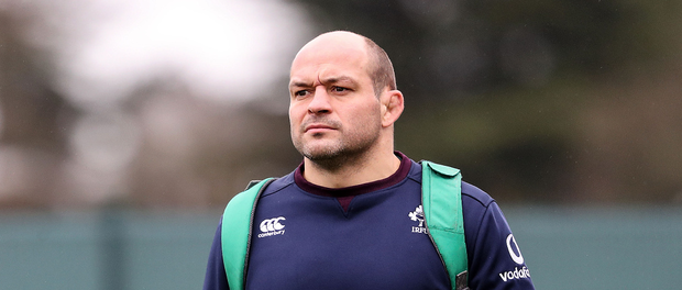 Ready for action: Rory Best at Ireland's training base at Carton House