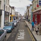 A man has died following an accident on Main Street, in Larne , Co Antrim,