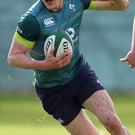 On the up: Garry Ringrose is beginning to make his mark