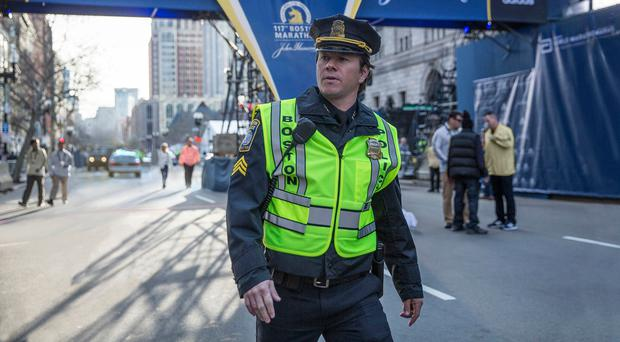 Hero cop: Mark Wahlberg in Patriots Day. Photo: PA Photo/Lionsgate