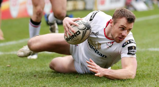 Ulster's Tommy Bowe will reach the 150 cap milestone against Zebre.