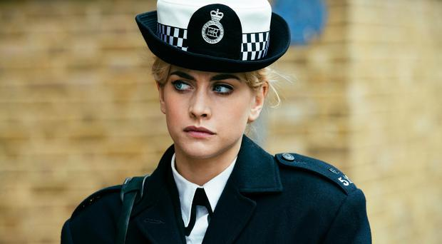 COP THAT: Stefanie Martini as Jane Tennison in Prime Suspect 1973