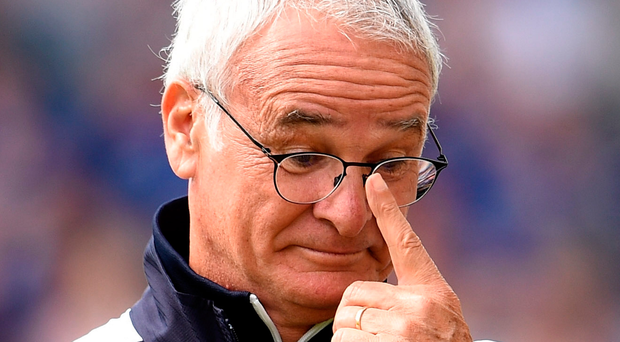 Lows and highs: Claudio Ranieri's Leicester struggled this season after their astonishing Premier League title win last year. Photo: Ross Kinnaird/Getty Images
