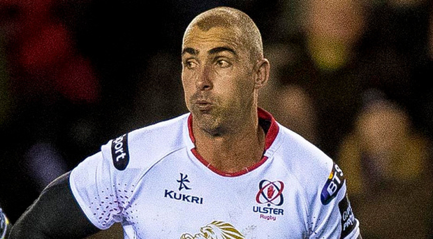 On the run: Ruan Pienaar has urged Ulster to build on their momentum and break into the top four. Photo: Craig Watson/INPHO