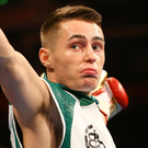 British bantamweight champion Ryan Burnett