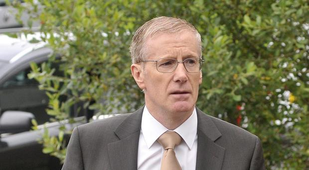 Gregory Campbell wrote to the BBC