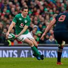 Ireland's Johnny Sexton in action during the RBS 6 Nations match at the Aviva Stadium, Dublin (PA)