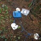 The defibrillator was destroyed in the incident.
