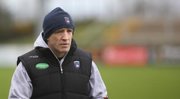 Happy man: Armagh manager Kieran McGeeney hailed his side's display