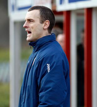 Disappointed: Oran Kearney