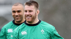 Prepared: Sean O'Brien says Ireland can mix up game plans