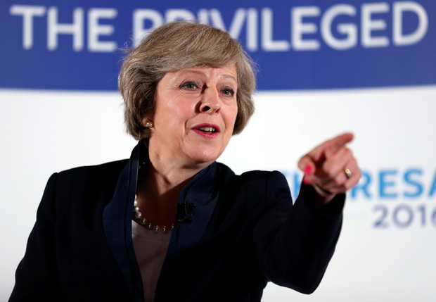 Theresa May expects to trigger the process by which the UK would leave the EU within weeks PA