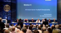 Hot topic: the structure of the Championship is debated at Congress at Croke Park at the weekend
