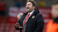 Standing firm: Niall Currie is unlikely to make changes