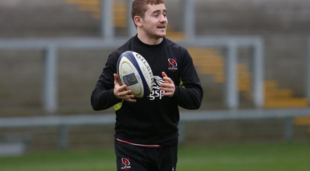 Staying put: Paddy Jackson