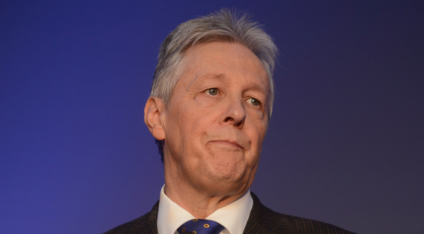 Former DUP leader and ex-Northern Ireland First Minister Peter Robinson.