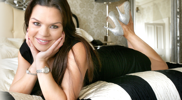 GLAMOUR GIRL: Gayle Williamson today, aged 36