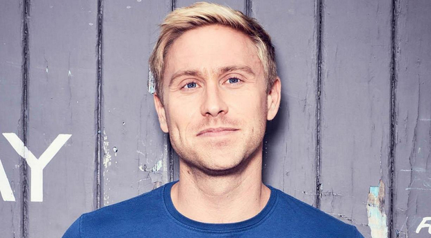 Funny business: Russell Howard's humour now centres on much more serious themes