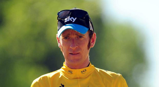 Centre stage: Bradley Wiggins