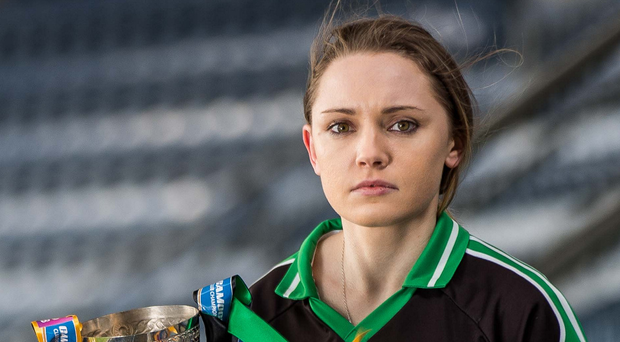 Hands on the prize: Eglish captain Ciara McGready is hoping to lift the All-Ireland Intermediate crown at Croke Park