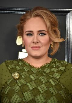 On tour: Adele. Photo by Jordan Strauss/Invision/AP