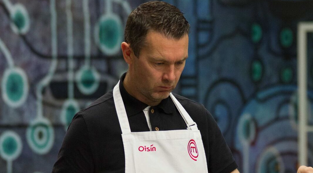 Oisin McConville on Celebrity Masterchef