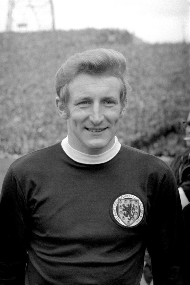 File photo dated 25-04-1970 of Tommy Gemmell. PA