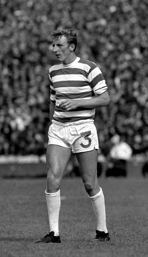 File photo dated 05-08-1967 of Tommy Gemmell. PA
