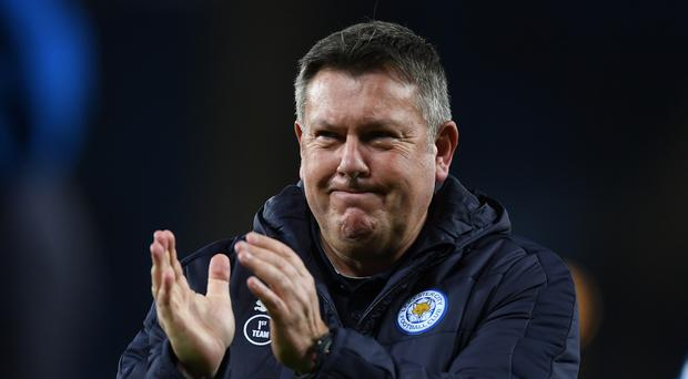 Craig Shakespeare, Leicester City's caretaker manager