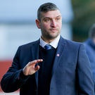 Big warning: Matthew Tipton knows Dungannon Swifts will come into the Irish Cup quarter-final clash full of confidence