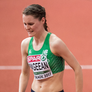 Mystery pain: Portaferry's Ciara Mageean pulled out of the European Indoors 1,500 metres final