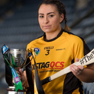 Prolific: Myshall's Ciara Quirke scored a goal and nine points