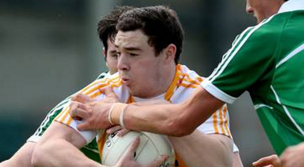 Falling short: Declan Lynch was unable to stop Saffrons suffering a defeat
