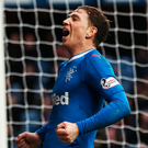 Treble yell: Joe Garner hails his impact in Scottish Cup win