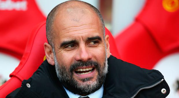 Winning run: Manchester City boss Pep Guardio
