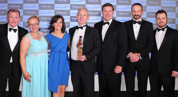 The Belfast Telegraph Business Awards now include an IT Company or Team of the Year category. In 2015, IT firm Novosco won Overall Business of the Year